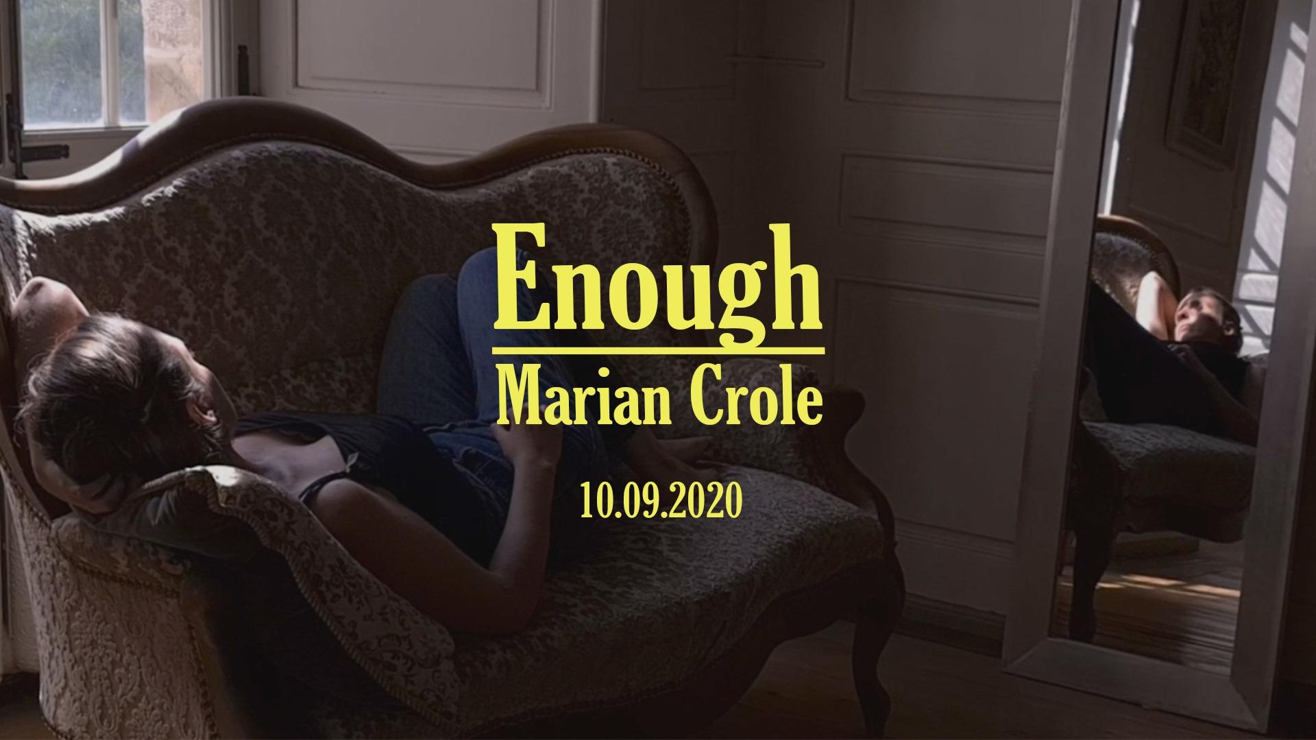 Photo Enough Nouvel EP Marian Crole